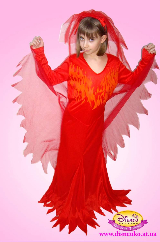 Как сшить костюм огня для девочки 33